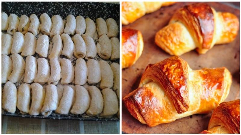 Originální domácí Croissanty z Francie hotové za chvilku a křupavé recept