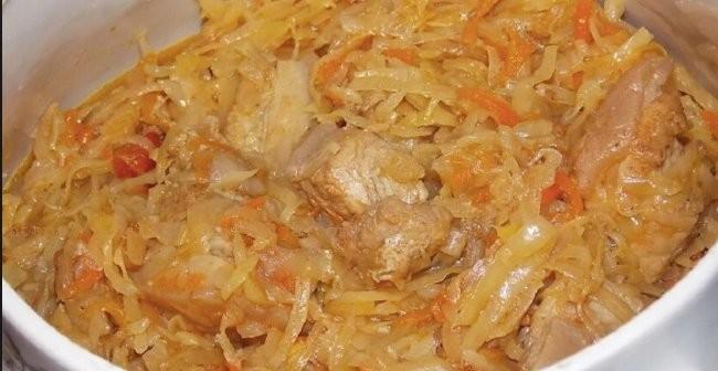 Segedínský guláš Polský recept (Bigos nebo Bigus)