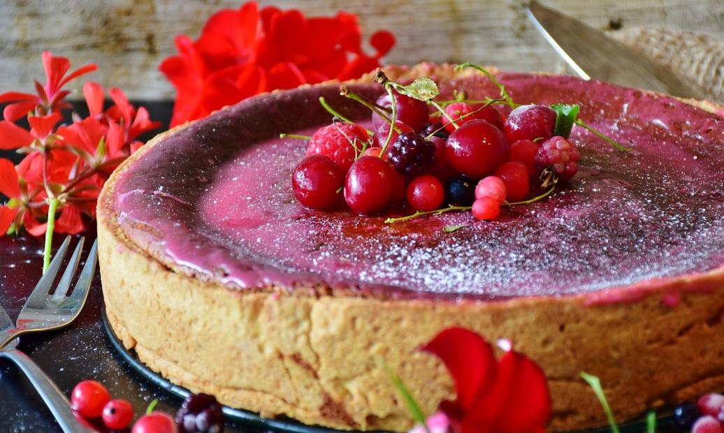 Božský letní zákusek : Rybízový dort s tvarohem