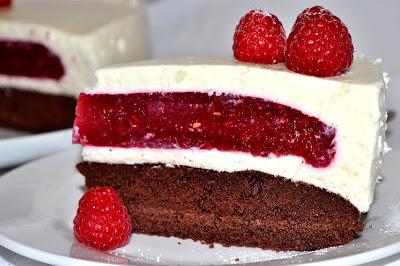 Malinova torta -rozpravkova