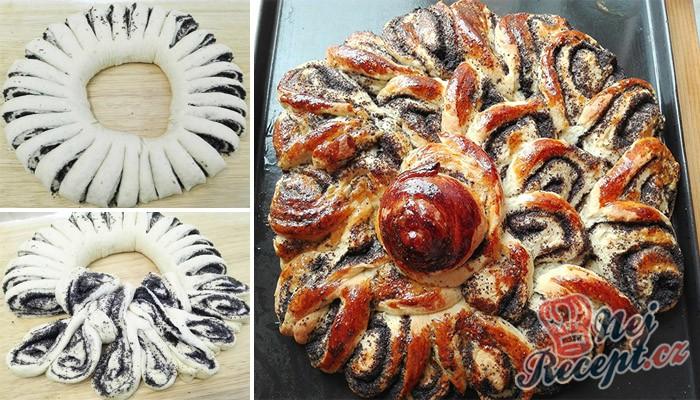 Makový dort – MAKOVÝ KVĚT
