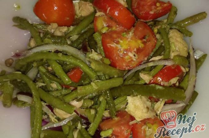Zeleninový salát s tuňákem