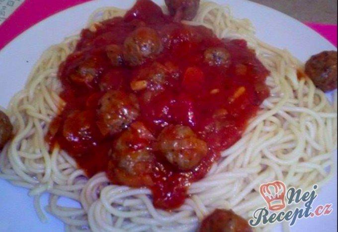 Boloňské špagety (6 porcí)