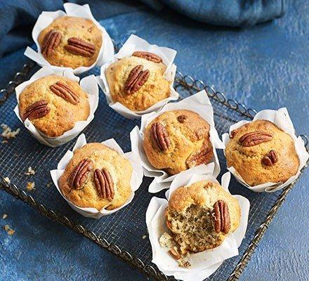 Snadné banánové muffiny