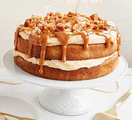Snadný karamelový dort
