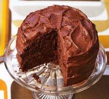 Snadný čokoládový dort