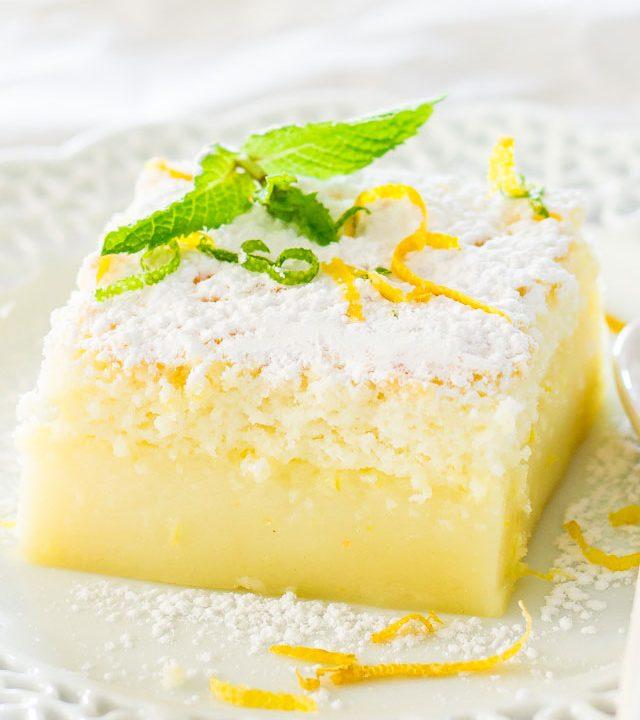 Kouzelný citronový dort
