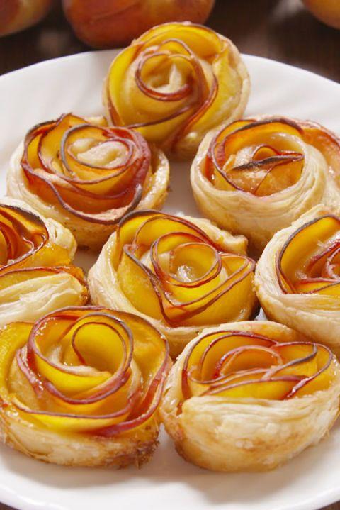 Broskvové růže