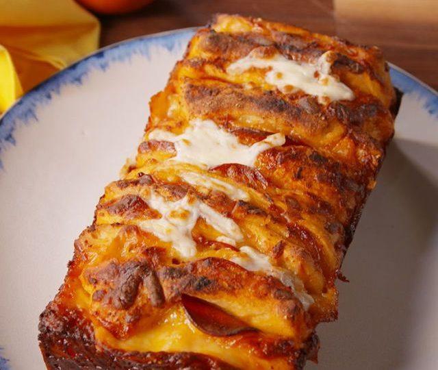 Chléb Pizza Pull-Apart