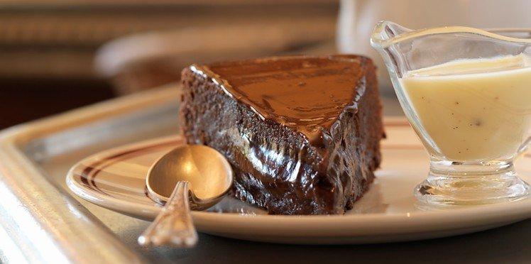 Minutový čokoládový dort