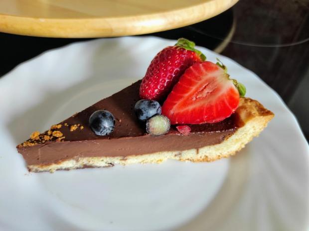 Francouzský čokoládový koláč (Tarte au Chocolat)