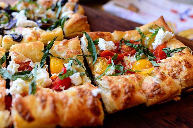 Pizza z nadýchaného těsta
