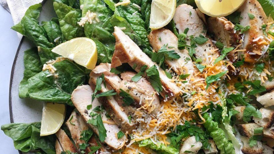 Salát Tex-Mex Chicken Caesar