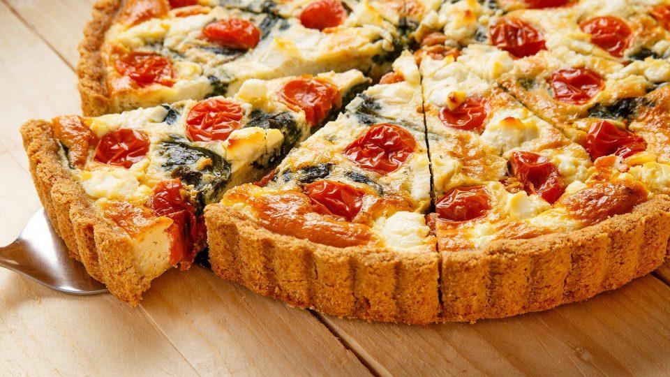 Sýr a rajčata Quiche
