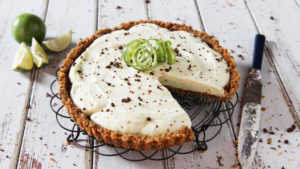 Zázvorový koláč Key Lime Pie od Billington's