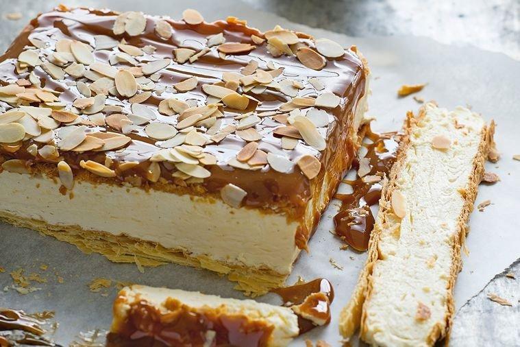 Karamelový dort