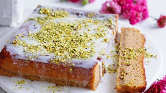Dýňový perský dort lásky